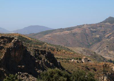 uitzicht Lecrin Valley